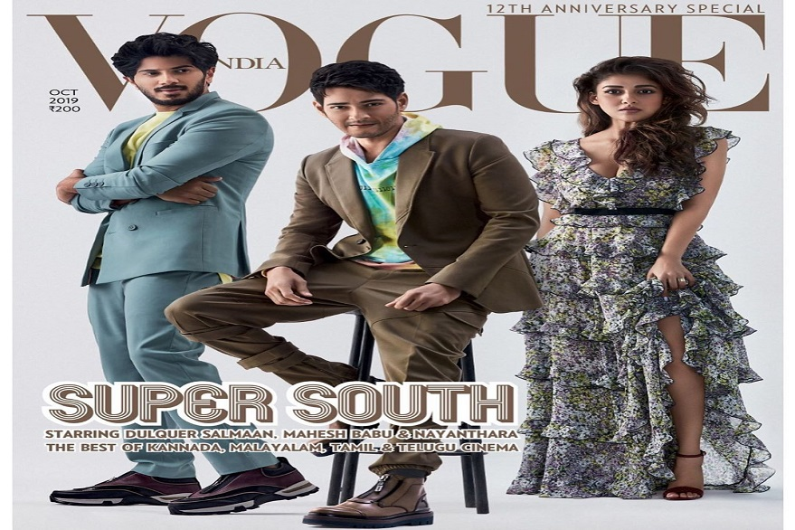 Dulquer Salmaan, Mahesh Babu, Nayanthara featured together in fashion photoshoot